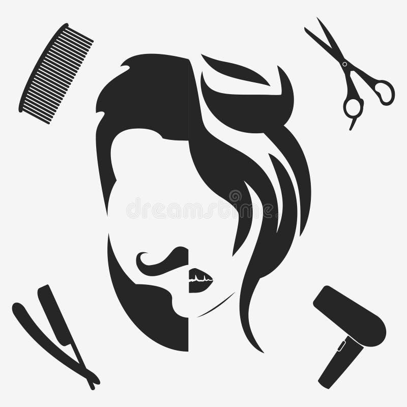 Mężczyzna i kobieta ilustracji