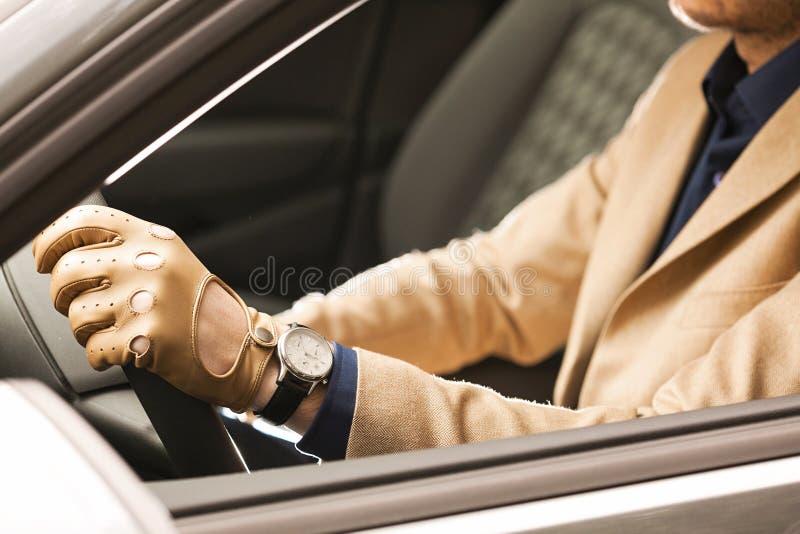 Mężczyzna jeżdżenie, szczegółu strzał zdjęcia royalty free