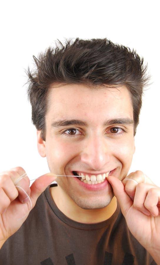 Download Mężczyzna jego zęby zdjęcie stock. Obraz złożonej z oralny - 13329956