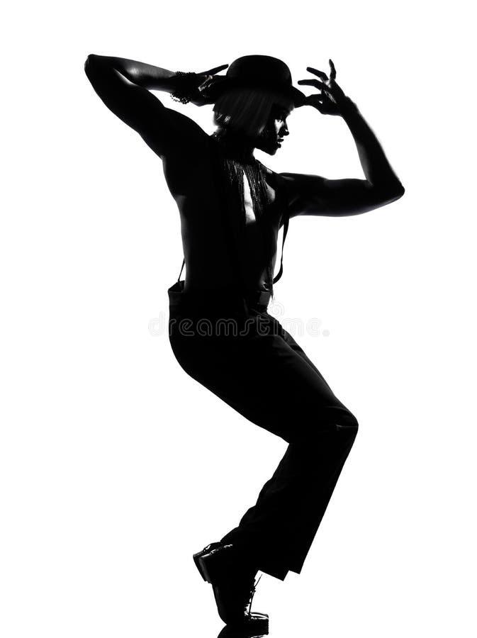 mężczyzna kabaretowy tancerza tana mężczyzna obraz stock