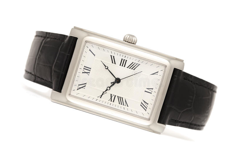 mężczyzna klasyczni zegarki s obraz royalty free