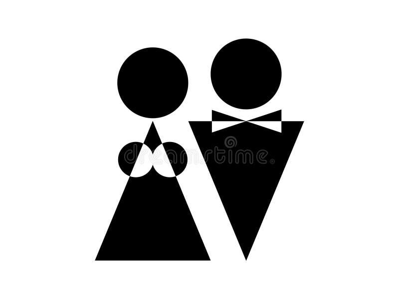 Download Mężczyzna kobieta ilustracji. Ilustracja złożonej z chest - 13340875