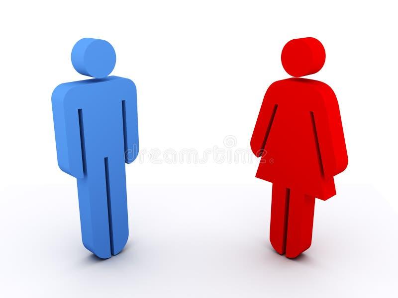 mężczyzna kobieta