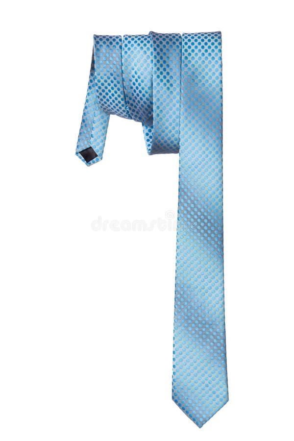 Mężczyzna krawat na białym tle obraz stock