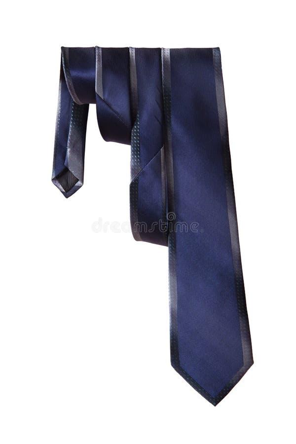 Mężczyzna krawat na białym tle zdjęcie royalty free