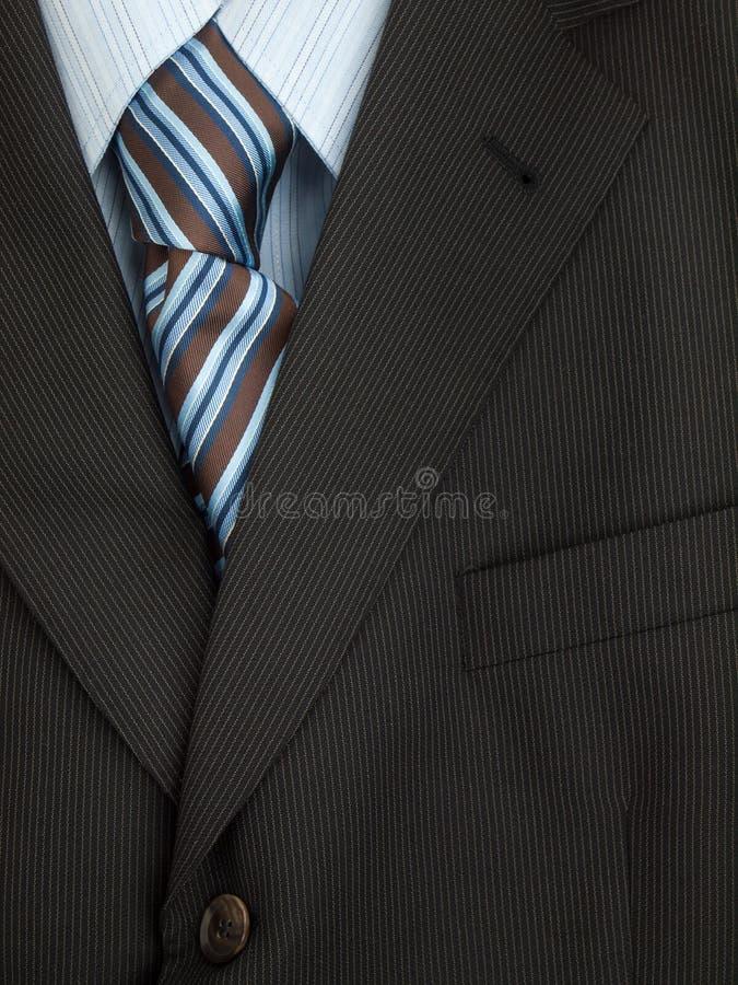 Mężczyzna kurtki krawat i koszula fotografia stock