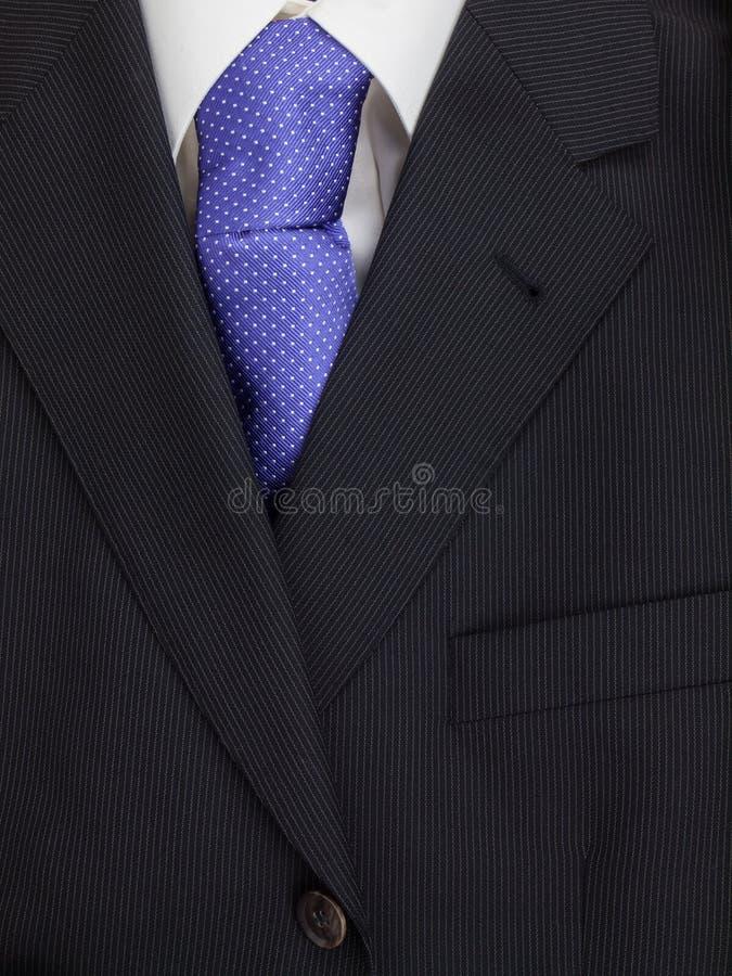 Mężczyzna kurtki krawat i koszula obraz stock