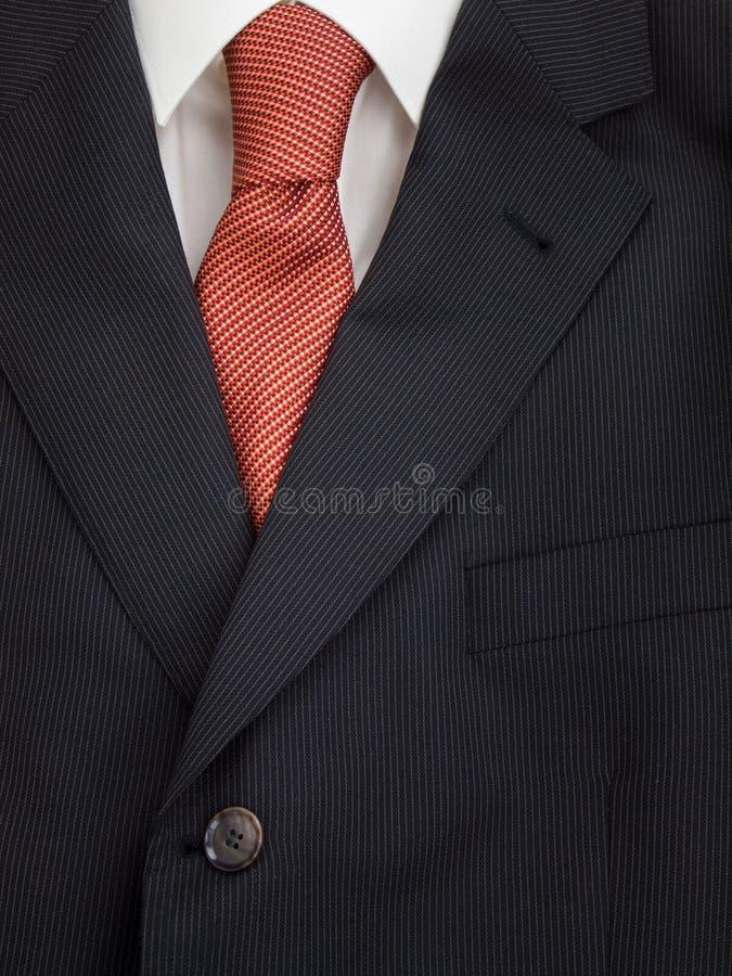 Mężczyzna kurtki krawat i koszula zdjęcie stock