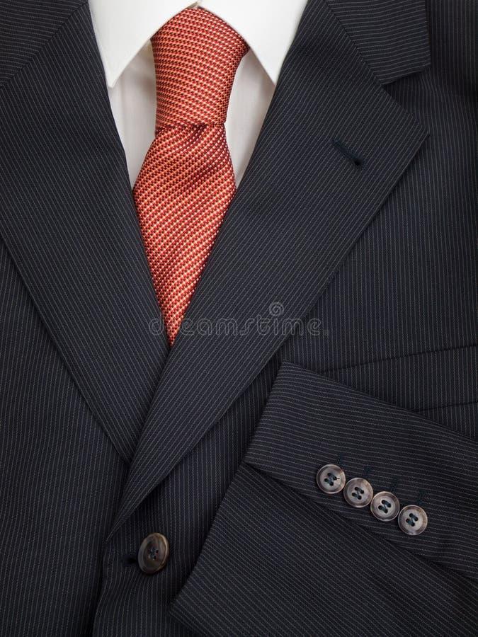 Mężczyzna kurtki krawat i koszula zdjęcie royalty free