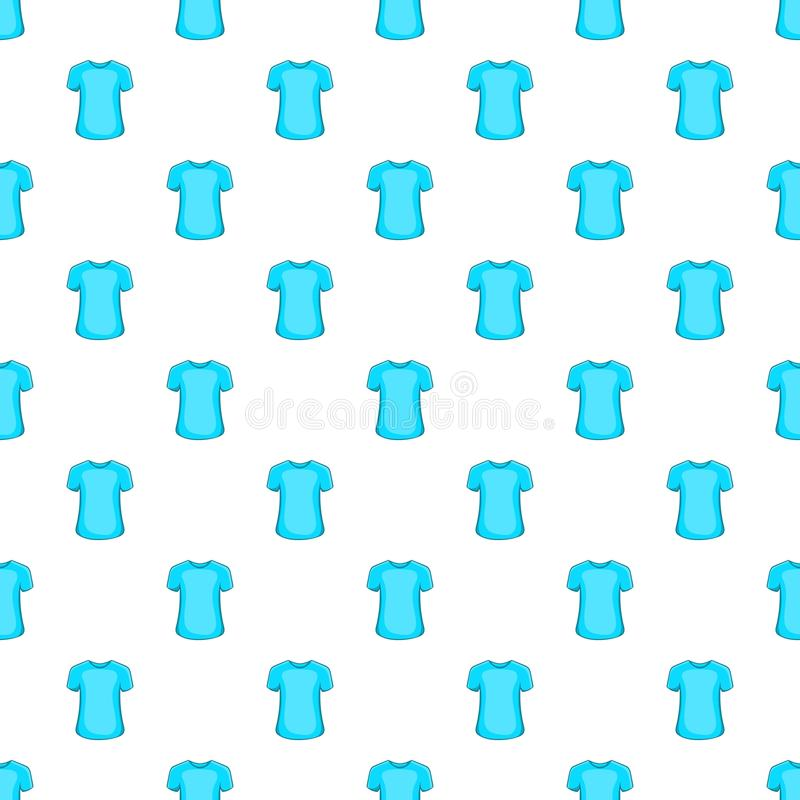 Mężczyzna lata koszulki wzór, kreskówka styl ilustracja wektor