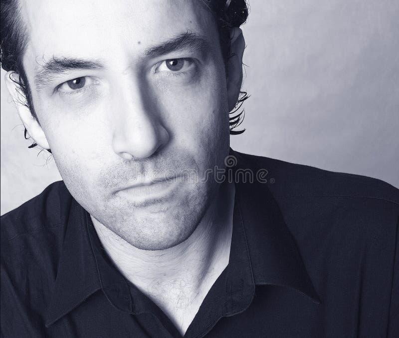 mężczyzna latynoski portret zdjęcie stock