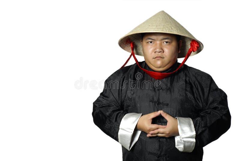 mężczyzna meidtating Vietnam obrazy royalty free
