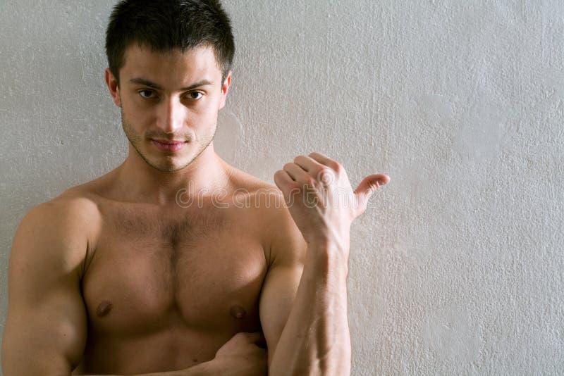 mężczyzna mięśniowy zdjęcie stock