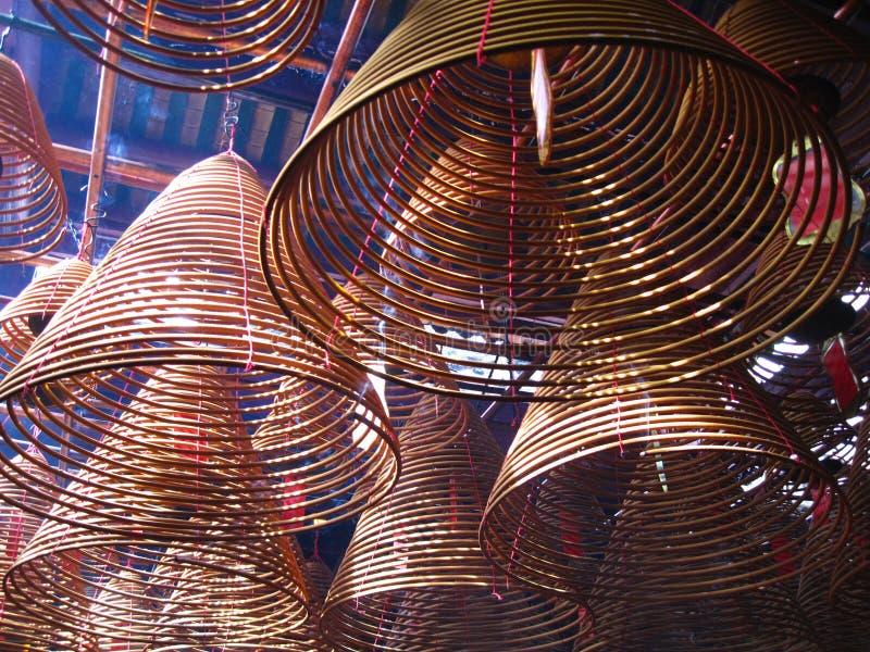 Mężczyzna Mo świątynia, Hong Kong, Chiny zdjęcia stock