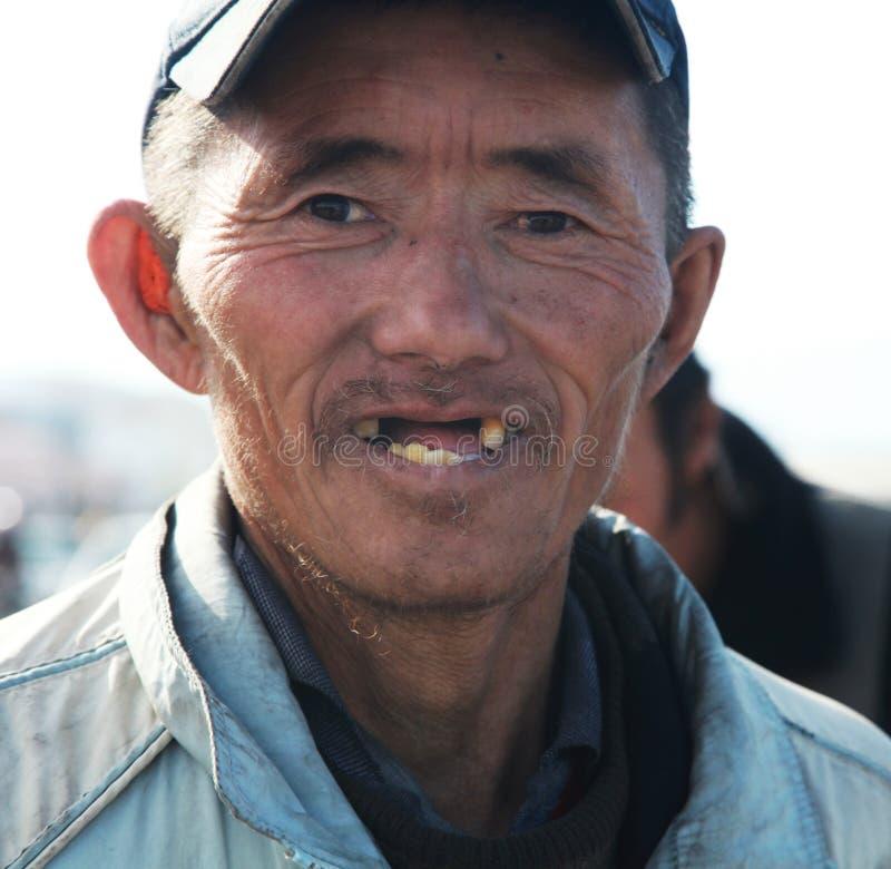 Mężczyzna mongoł obrazy stock