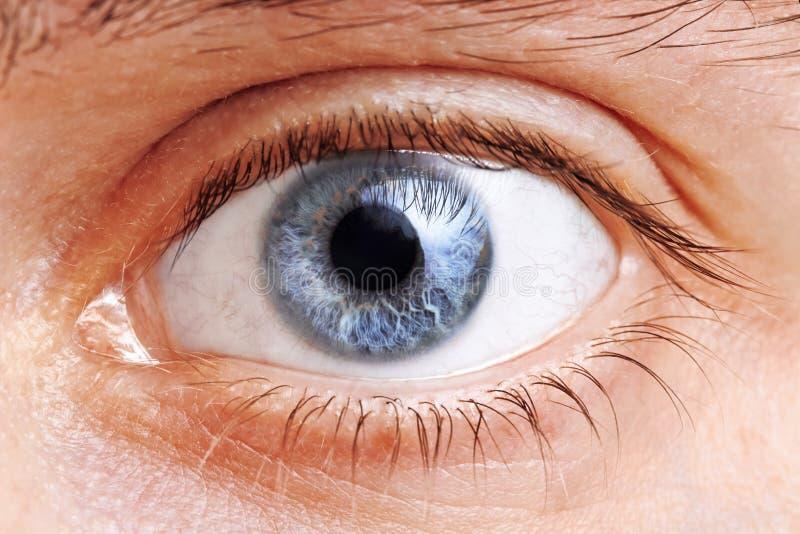 Mężczyzna oczy zdjęcie royalty free