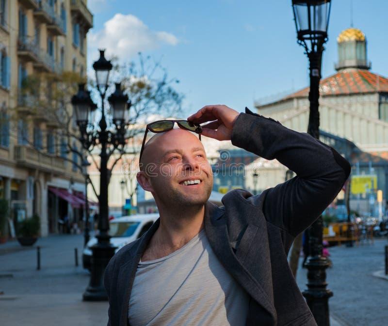 Mężczyzna outdoors fotografia royalty free