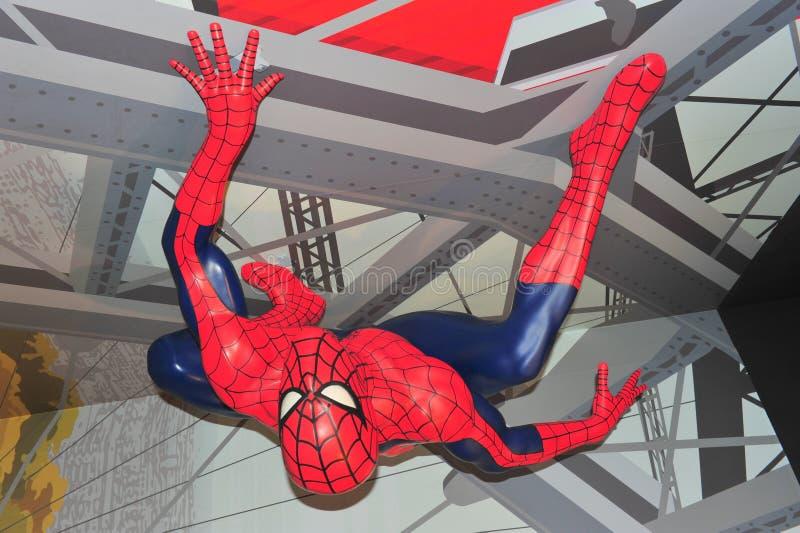 mężczyzna pająk zdjęcia stock