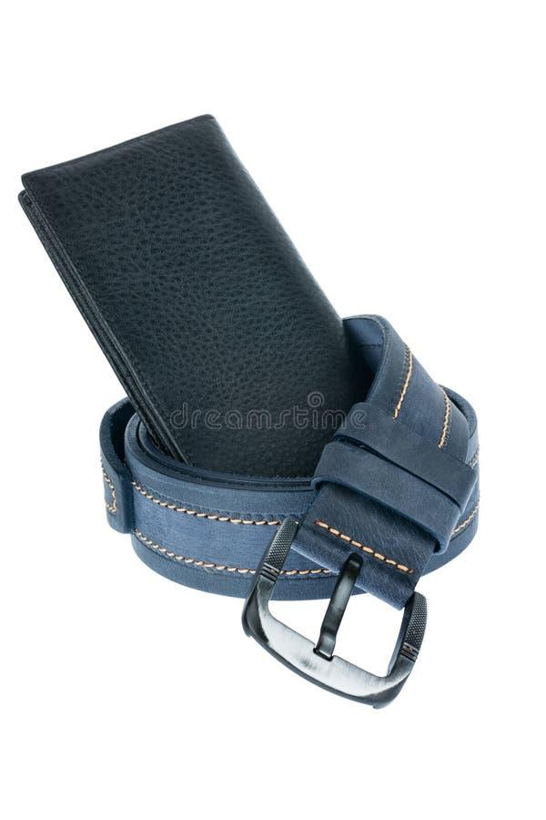 Download Mężczyzna pasek i portfel zdjęcie stock. Obraz złożonej z pojęcie - 57664460