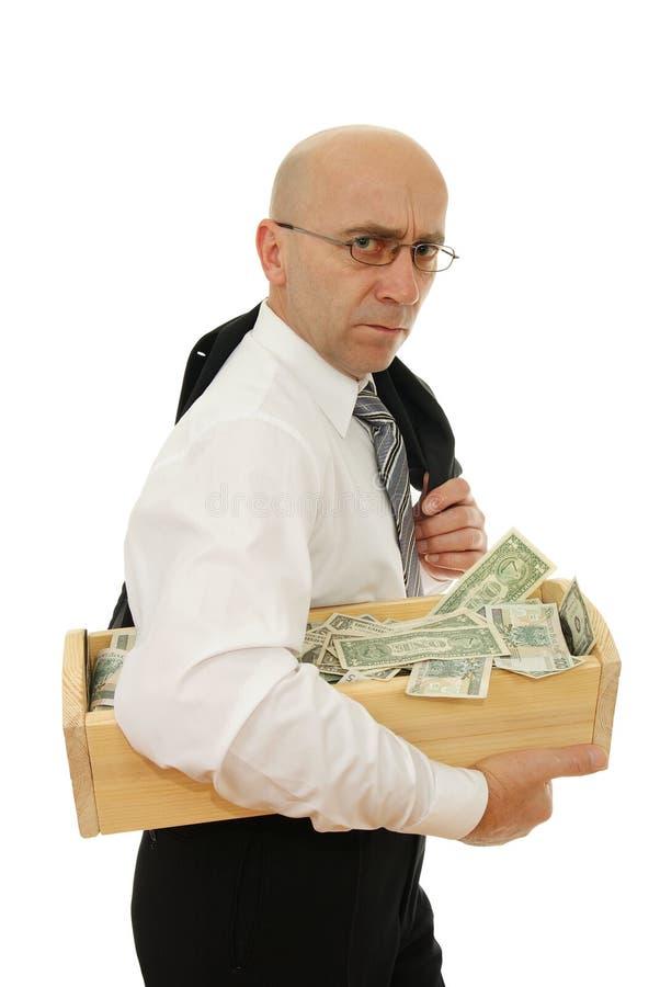 mężczyzna pieniądze zdjęcia stock