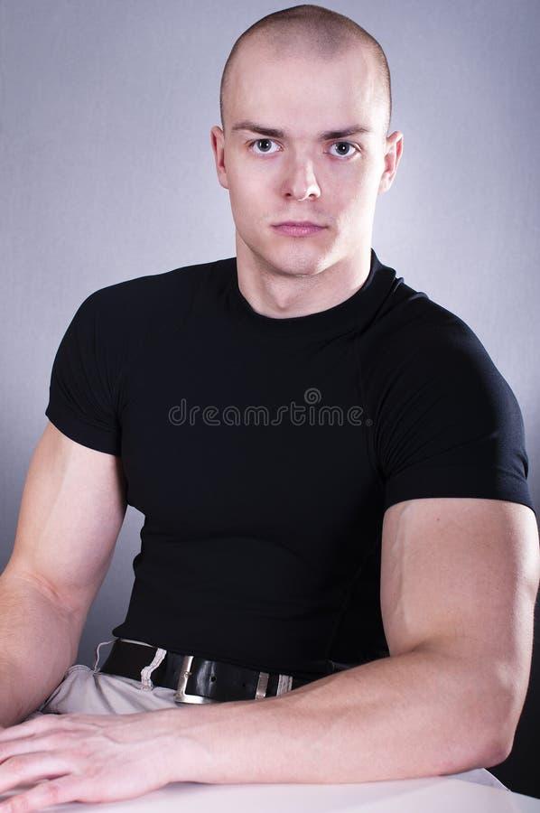 mężczyzna portraitof zdjęcie royalty free