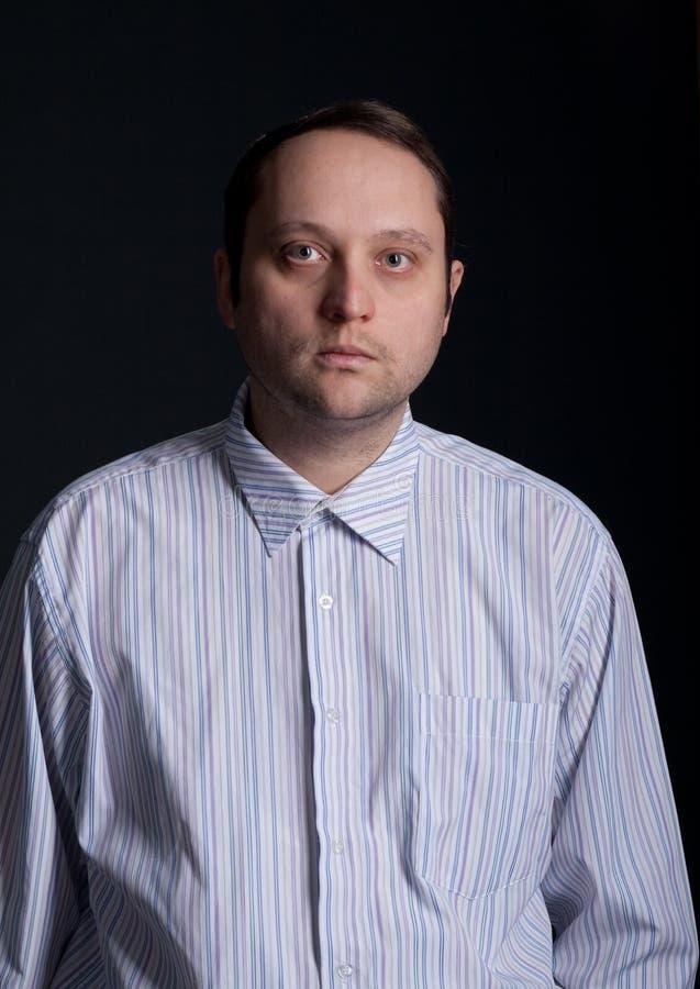 mężczyzna portret obrazy stock