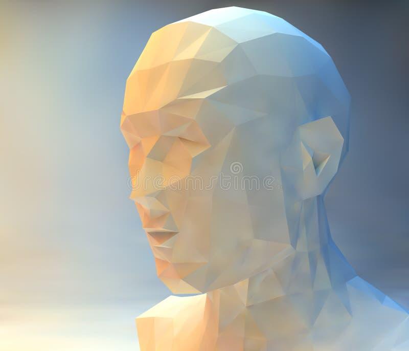 mężczyzna portret ilustracji