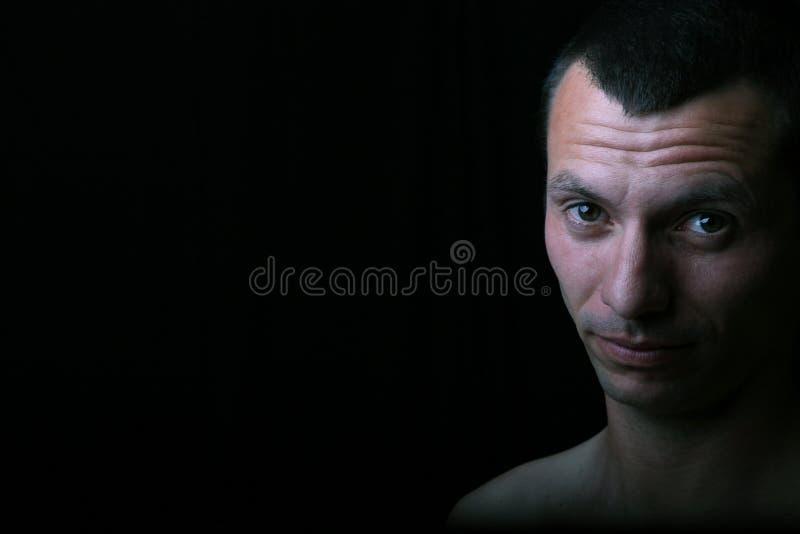 mężczyzna portret obrazy royalty free
