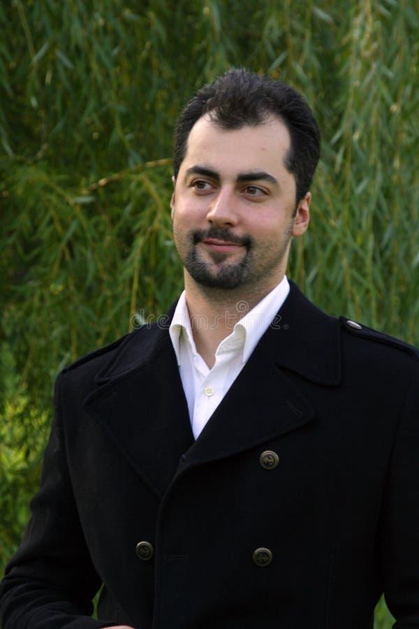 mężczyzna portreta ja target243_0_ fotografia stock