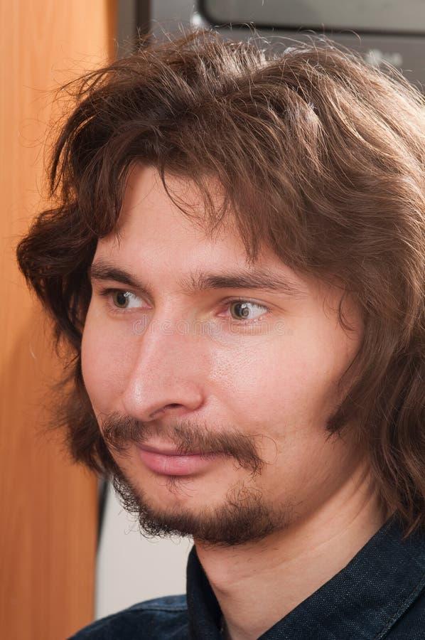 mężczyzna portreta potomstwa zdjęcie stock