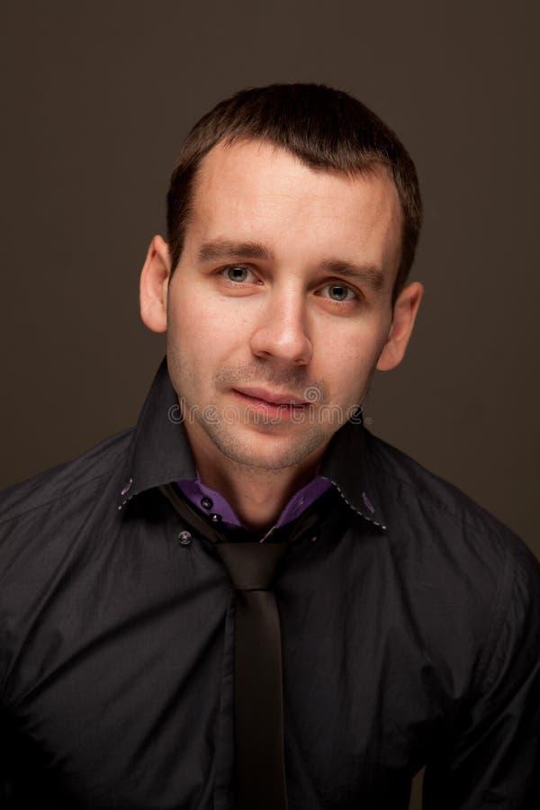mężczyzna portreta potomstwa zdjęcia stock