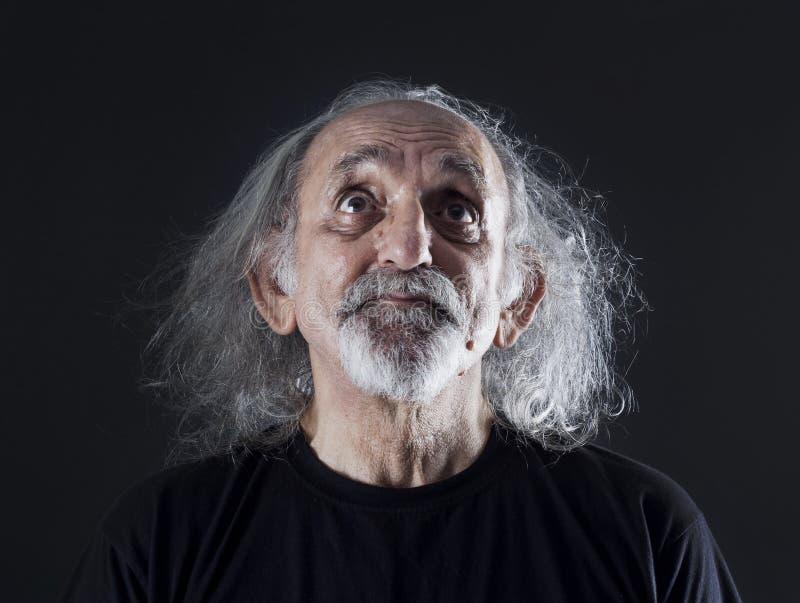 mężczyzna portreta senior obraz stock