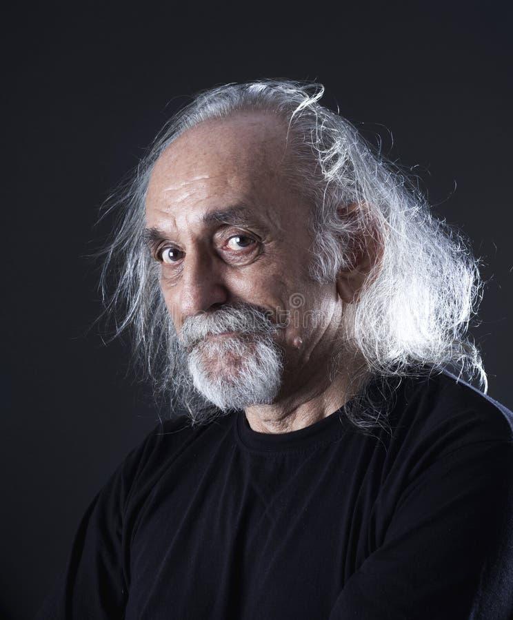 mężczyzna portreta senior fotografia stock