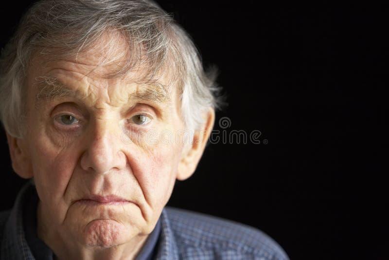 mężczyzna portreta senior fotografia royalty free
