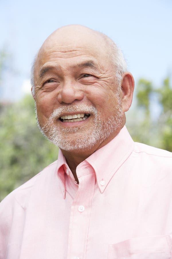 mężczyzna portreta starszy ja target2233_0_ zdjęcie royalty free