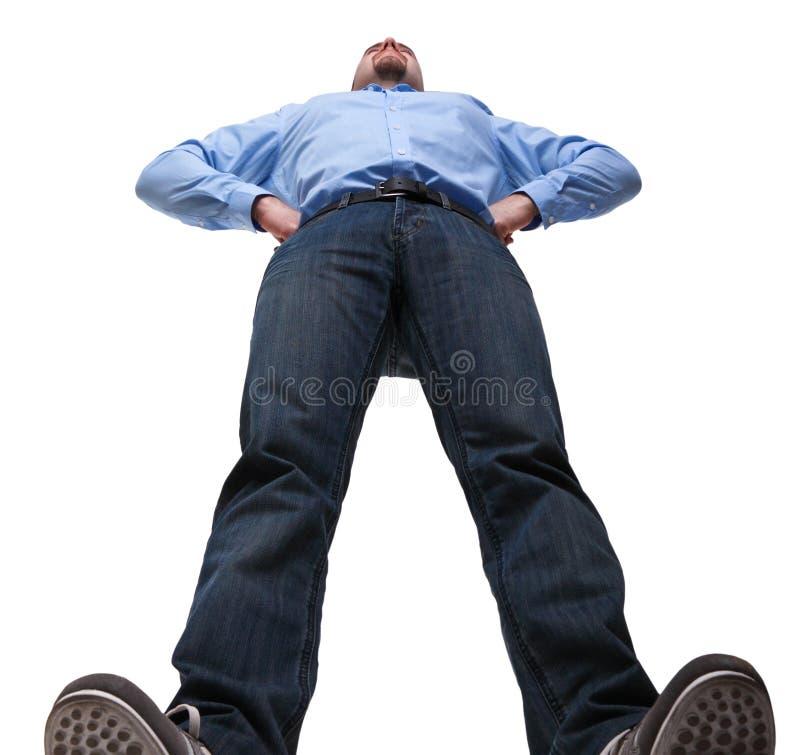 mężczyzna pozycja zdjęcia royalty free