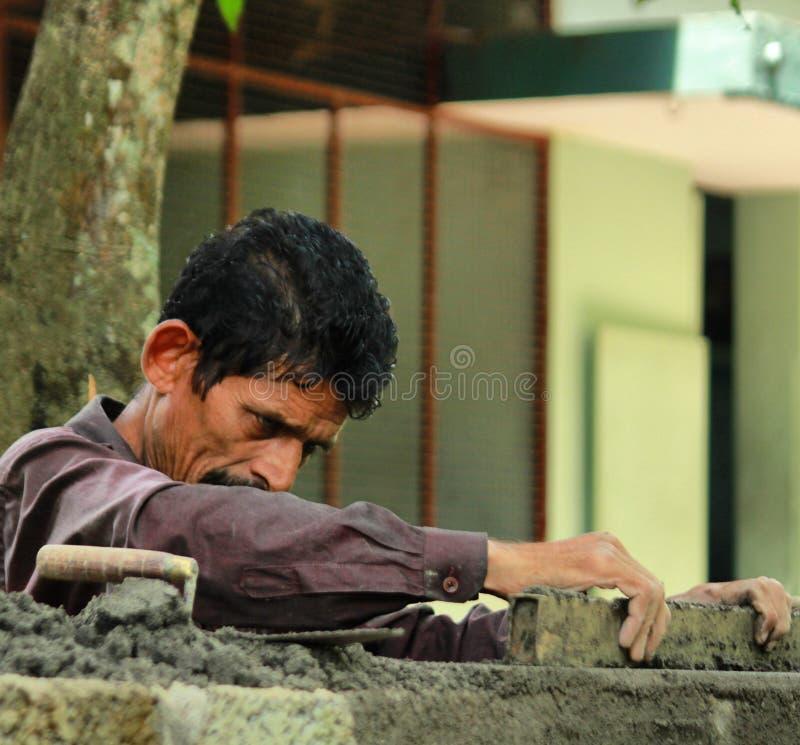 Mężczyzna przy pracą obrazy stock