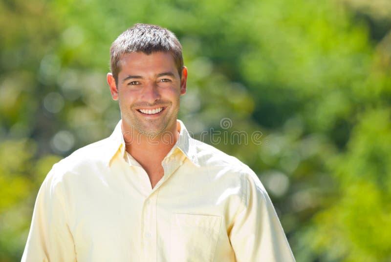 mężczyzna przystojny portret obrazy stock