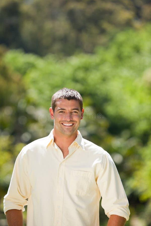 mężczyzna przystojny portret zdjęcia royalty free