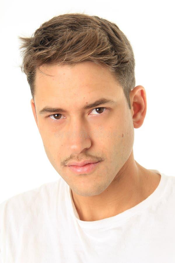 Mężczyzna przystojny portret zdjęcie royalty free