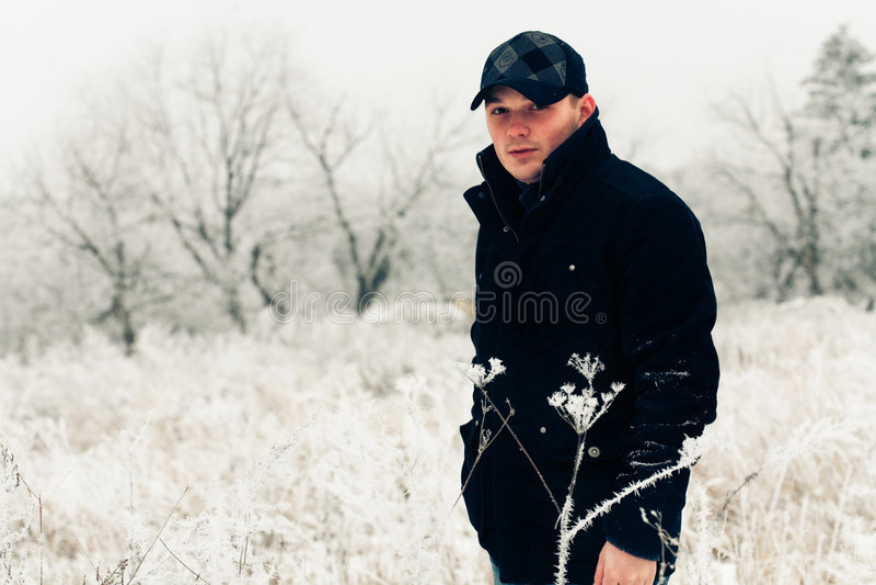 mężczyzna przystojny portret zdjęcia stock