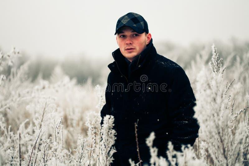 mężczyzna przystojny portret fotografia royalty free