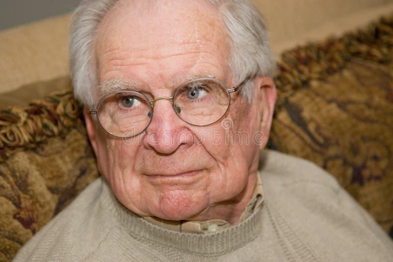 mężczyzna przystojny senior zdjęcia stock