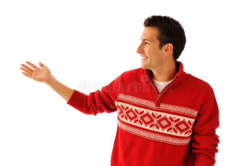 mężczyzna puloweru potomstwa zdjęcia royalty free