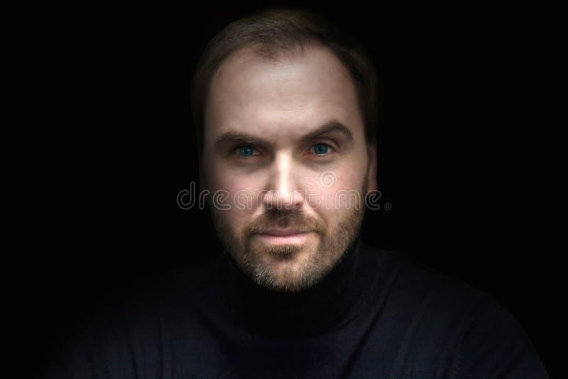 Mężczyzna ` s twarz obraz royalty free