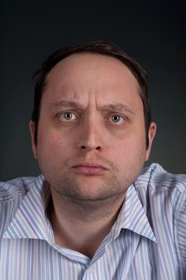 mężczyzna smutny obraz stock
