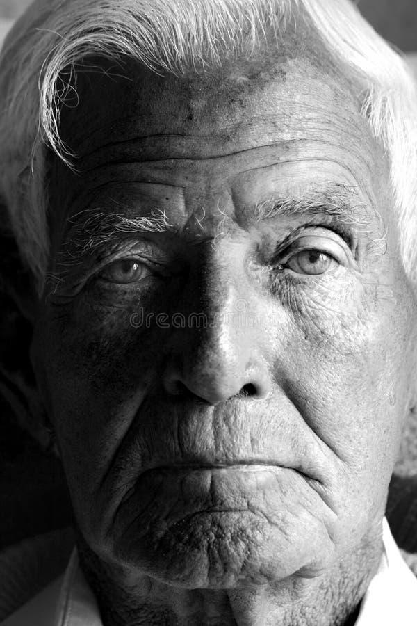 mężczyzna stary fotografia royalty free