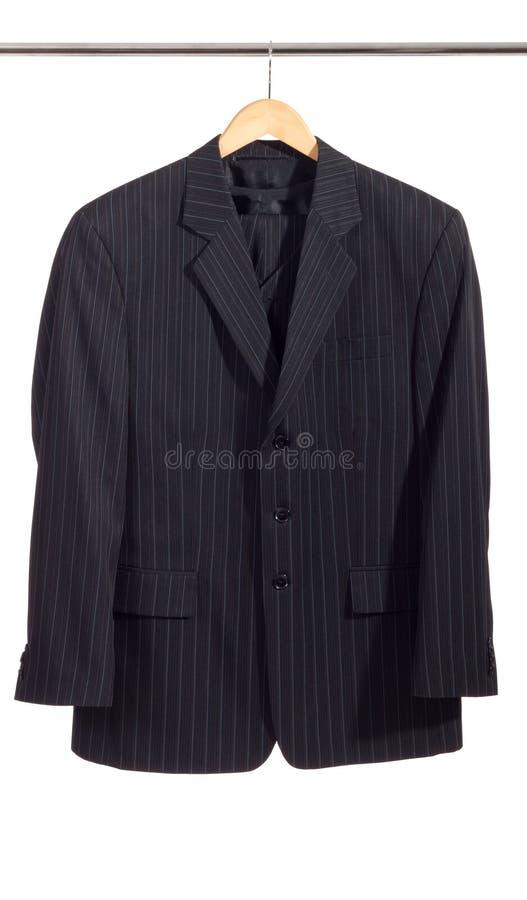 mężczyzna stojaka s kostium fotografia stock