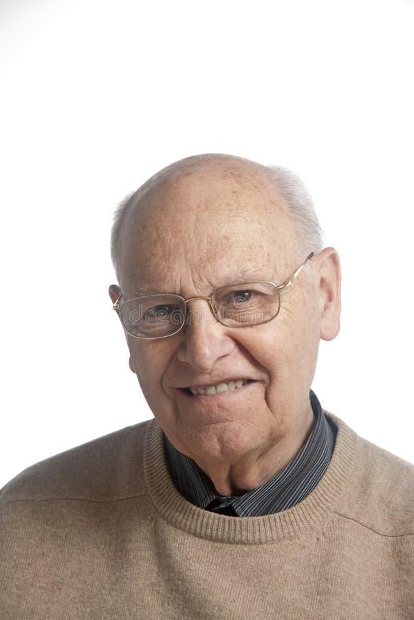 mężczyzna szczęśliwy senior fotografia royalty free