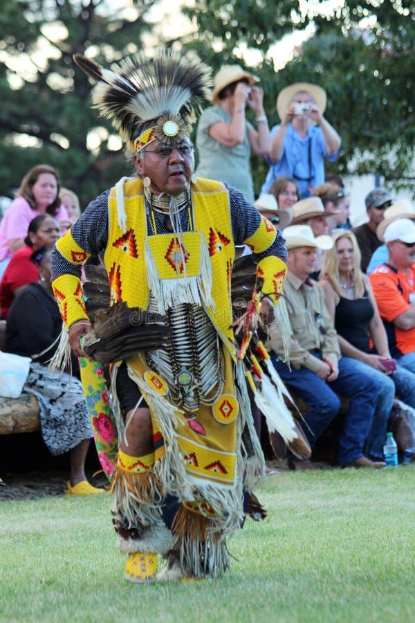 Mężczyzna taniec - Powwow 2013 fotografia royalty free